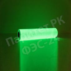 Фотолюминесцентная пленка для ламинации с маркировкой ФЭС-24П 140тип2, послесвечение более 24 ч., ширина 0,61м