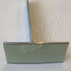 Плоский алюминиевый профиль 25 мм с фотолюминесцентной лентой по ГОСТ без изображения с износостойким покрытием