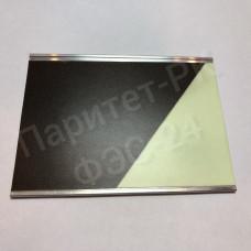 Плоский алюминиевый профиль 56 мм с фотолюминесцентной лентой  по ГОСТ с изображением с износостойким покрытием