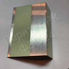 Алюминиевый профиль-ступень 50мм*28мм с износостойкой фотолюминесцентной лентой по ГОСТ без изображения