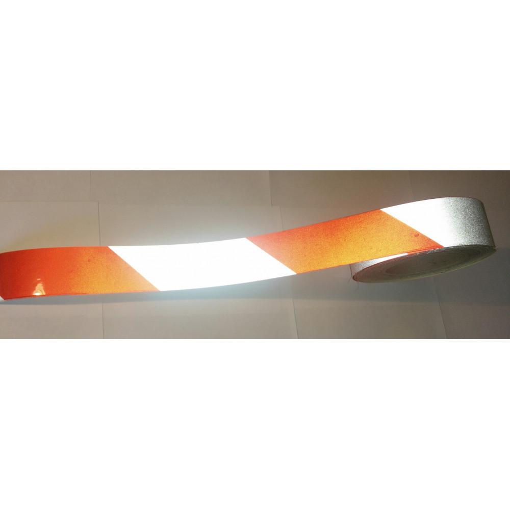 Световозвращающая лента DAOMING с изображением в рулоне шириной 50 мм (в пог.м.)