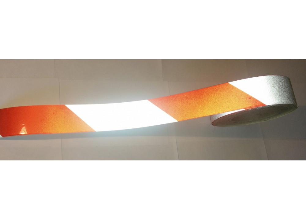Световозвращающая светоотражающая лента марки 3100 с изображением в рулоне шириной 100 мм (в пог.м.)