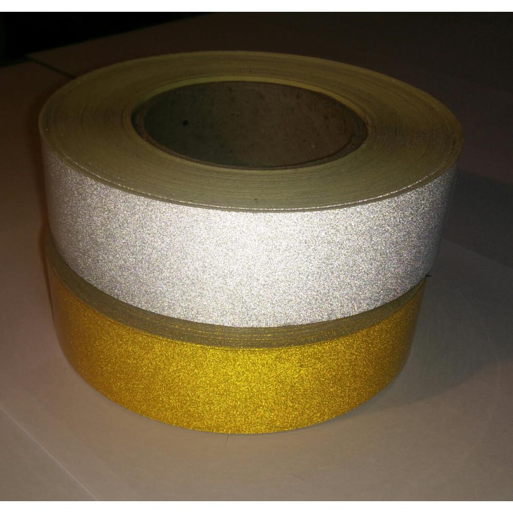 Световозвращающая лента DAOMING без изображения в рулоне шириной 25 мм (в пог.м.)