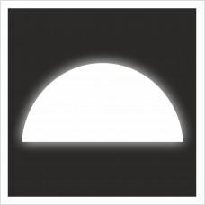 """Знак F 06 """"Место размещения средств противопожарной защиты"""" на световозвращающей светоотражающей пленке на ПВХ"""
